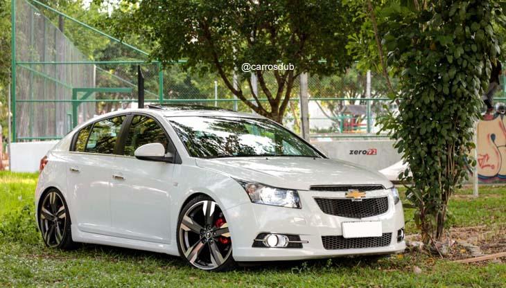 Chevrolet Cruze Com Rodas Aro 20 Presenza Pj 03